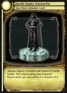 Darth Vader Statuette (card)