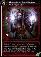 Nightsister Spell Weaver (card)