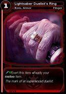 Lightsaber Duelist's Ring (card)