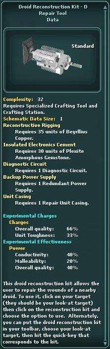 Droid Reconstruction Kit - D