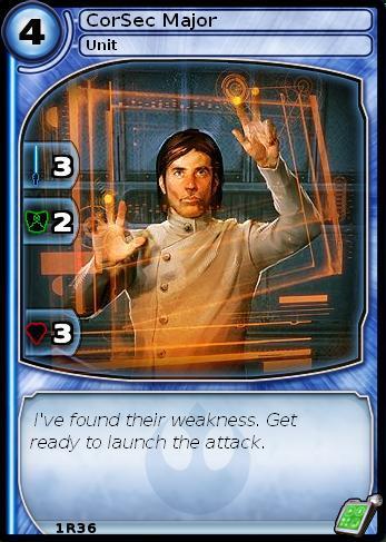 CorSec Major (card)