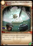 Destroy the Imperial Base (card)