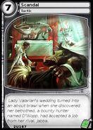 Scandal (card)