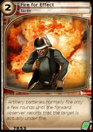 Fire for Effect (card)
