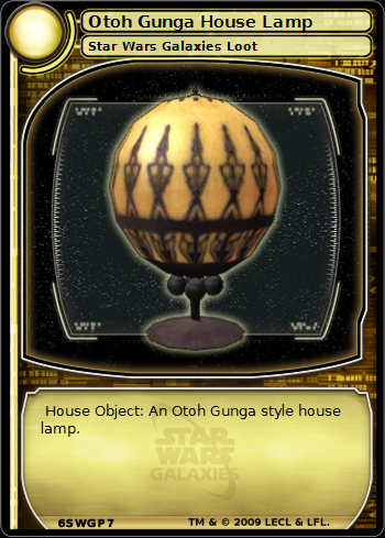 Otoh Gunga House Lamp