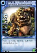 Singing Mountain Rancor (card)
