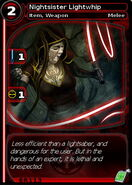 Nightsister Lightwhip (card)