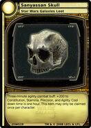 Sanyassan Skull (card)