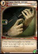 Rebel Battle Gloves (card)