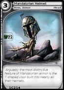 Mandalorian Helmet (card)