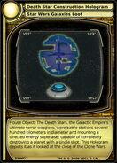Death Star Construction Hologram (card)