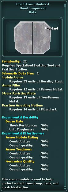 Module - Droid Armor 4