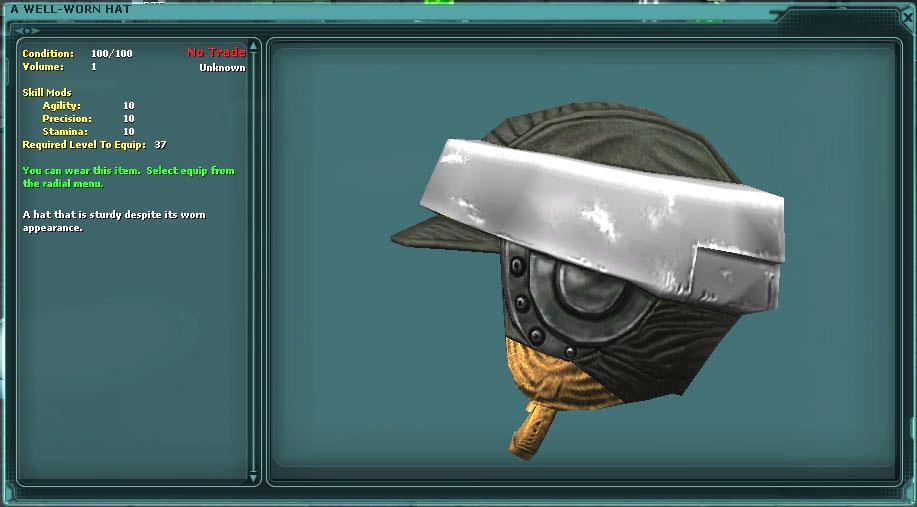 Well-Worn Hat