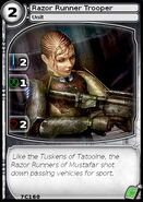 Razor Runner Trooper (card)