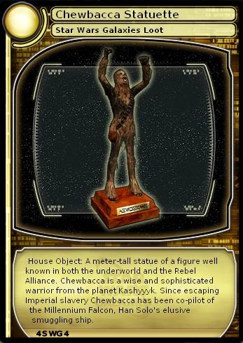 Chewbacca Statuette