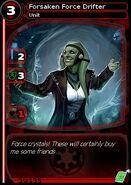 Forsaken Force Drifter (card)