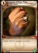 Issued Officer Ring (card)