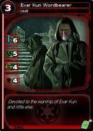 Exar Kun Wordbearer (card)