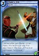 Faalo's Will (card)