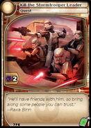 Kill the Stormtrooper Leader (card)