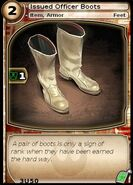 Issued Officer Boots (card)