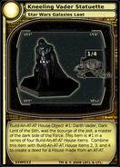 Kneeling Vader Statuette (card)