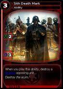 Sith Death Mark (card)