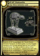 AT- AT Statuette (card)