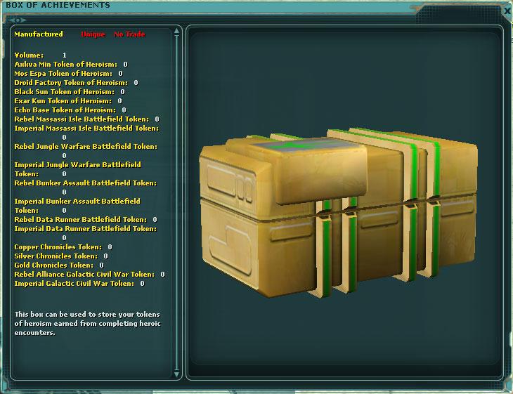 Box of Achievements