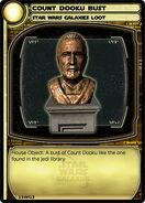 Count Dooku Bust (card)