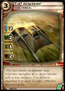 T-47 Airspeeder (card)
