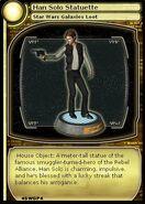 Han Solo Statuette (card)