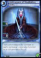 Instrument of Meditation (card)