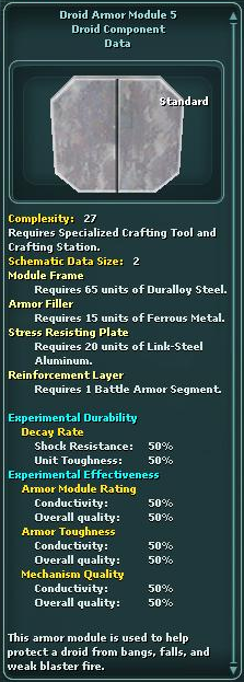 Module - Droid Armor 5
