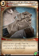Alliance Cold Weather Gloves (card)