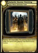 Galactic Hunter Painting (card)
