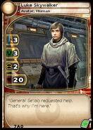 Luke Skywalker (Avatar) 5 (card)