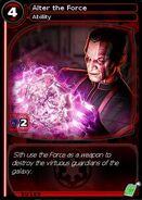 Alter the Force (card)