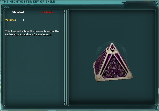 The Nightsister Key of Exile