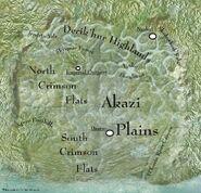 Talus regions