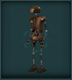 Short Circuiting Sentry droid