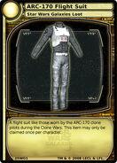 ARC-170 Flight Suit (card)