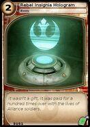 Rebel Insignia Hologram (card)