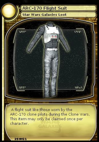 ARC-170 Flight Suit