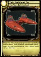 Twin Pod Cloud Car (card)
