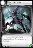 Hunt Kkorrwrot (card)