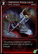 Nightsister Energy Lance (card)