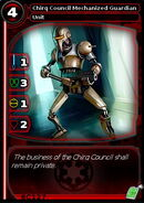 Chirq Council Mechanized Guardian (card)