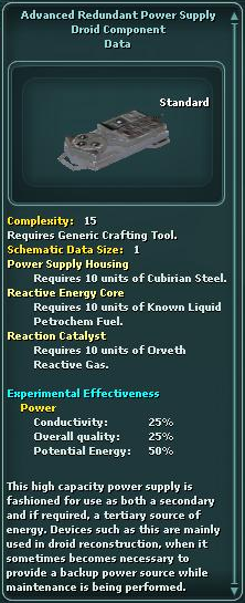 Component - Redundant Power Supply - Advanced