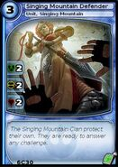 Singing Mountain Defender (card)